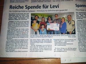 Artikel Gmünder Tagespost 13.02.2014
